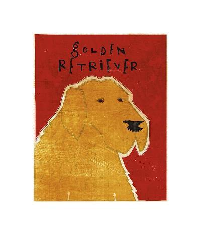 Golden Retriever-John Golden-Giclee Print