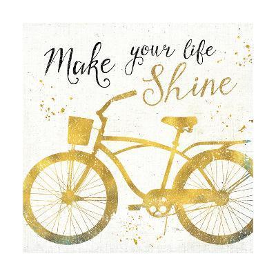 Golden Ride II--Art Print