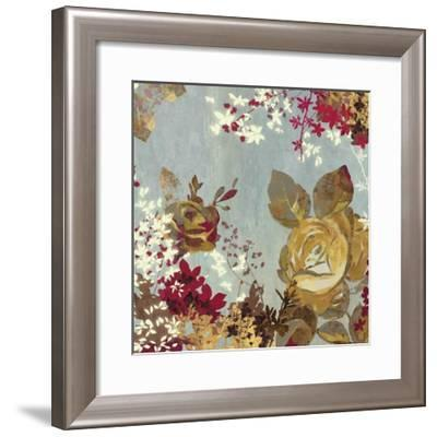 Golden Roses II-Aimee Wilson-Framed Art Print