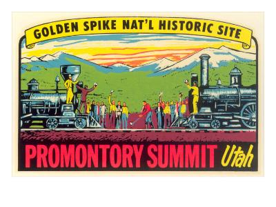 Golden Spike, Promontory Summit--Art Print