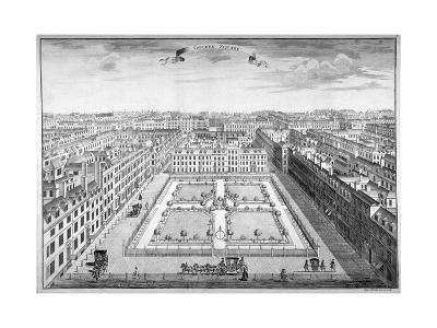 Golden Square, Westminster, London, 1754-Sutton Nicholls-Giclee Print