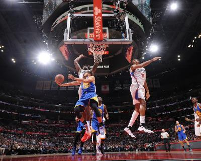 Golden State Warriors v Los Angeles Clippers-Andrew D Bernstein-Photo