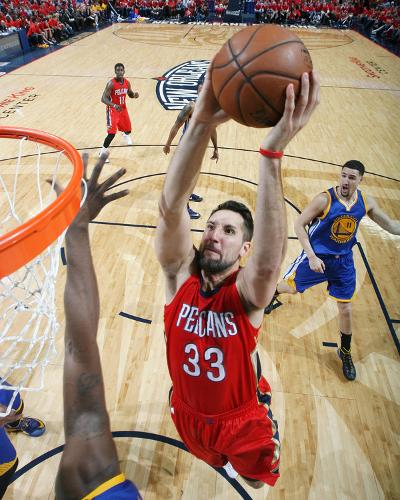 Golden State Warriors v New Orleans Pelicans - Game Three-Layne Murdoch-Photo