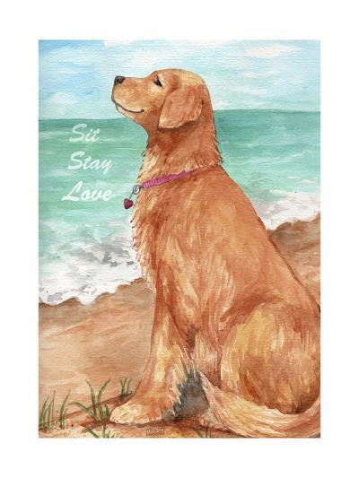 Golden Stay Love-Melinda Hipsher-Giclee Print