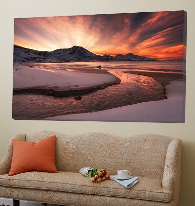 Golden Sunset-Jaroslav Zakravsky-Loft Art