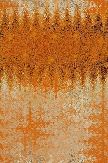 Golden Swirl-Ricki Mountain-Art Print