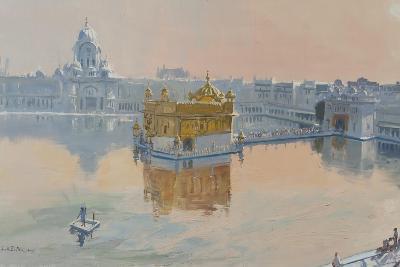 Golden Temple, Amritsar, 2013-Tim Scott Bolton-Giclee Print