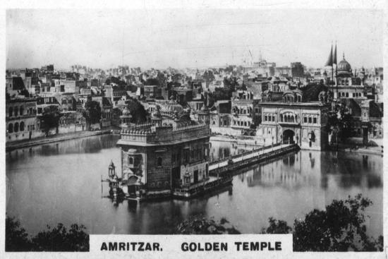 Golden Temple, Amritsar, India, C1925--Giclee Print