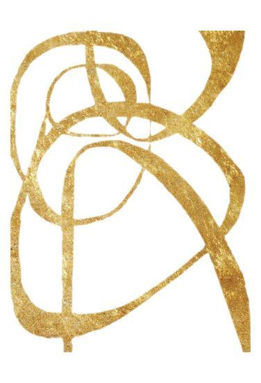 Golden Tinsel 3-Smith Haynes-Art Print