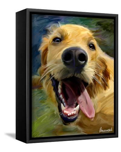 Golden Tongue-Robert Mcclintock-Framed Canvas Print