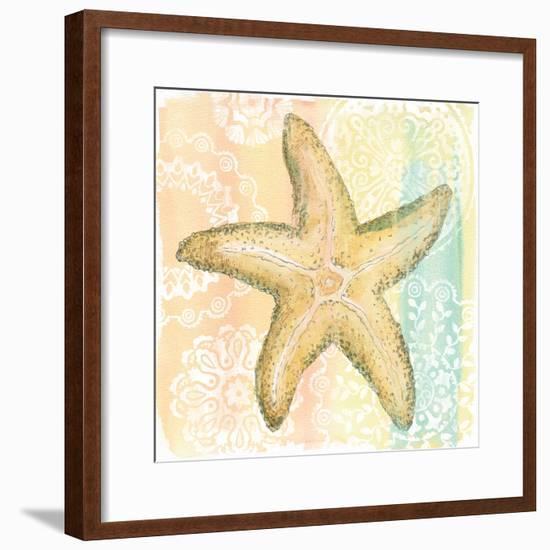 Golden Treasures VI-Beth Grove-Framed Art Print
