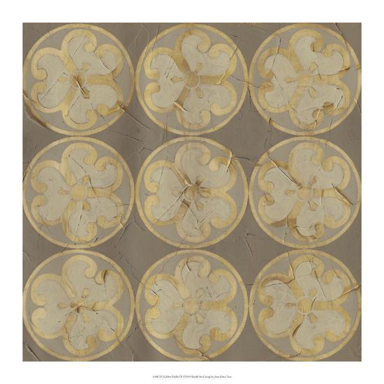 Golden Trellis IX-June Vess-Giclee Print