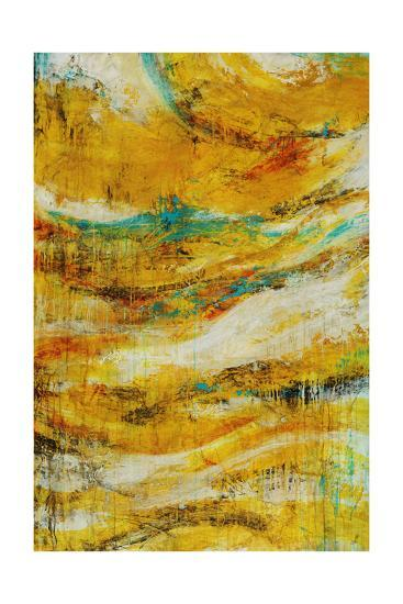 Golden Wave-Rikki Drotar-Giclee Print