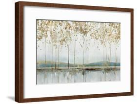 Golden Whisper-Isabelle Z-Framed Art Print