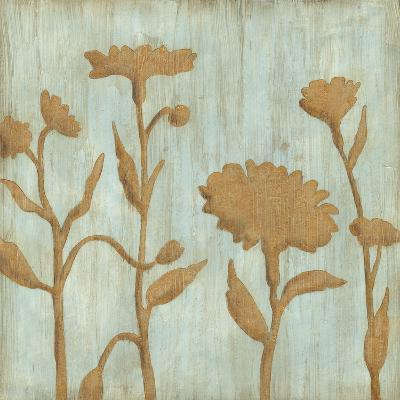 Golden Wildflowers I-Megan Meagher-Premium Giclee Print