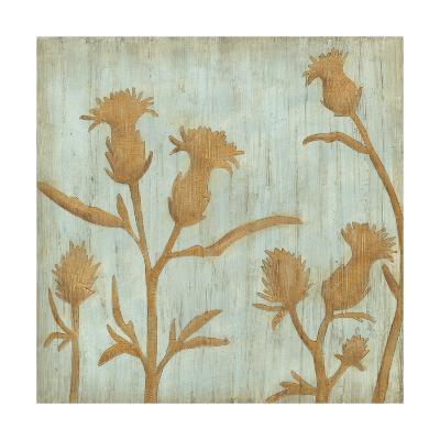 Golden Wildflowers III-Megan Meagher-Premium Giclee Print