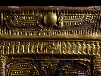Golden Winged Disc, Cartonnage from Mummy, Detail, Ptolemaic Period--Giclee Print