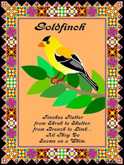 Goldfinch Quilt-Mark Frost-Giclee Print