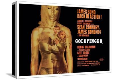 Goldfinger-Projection--Stretched Canvas Print
