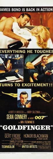 Goldfinger--Art Print