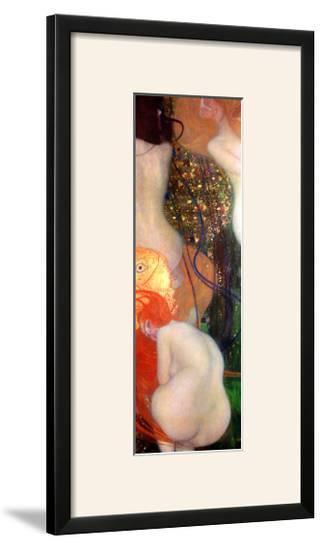 Goldfish, 1901-02-Gustav Klimt-Framed Giclee Print