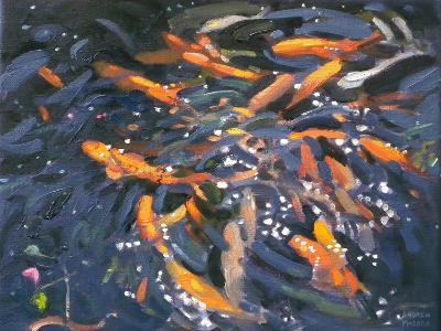 Goldfish, 2010-Andrew Macara-Giclee Print