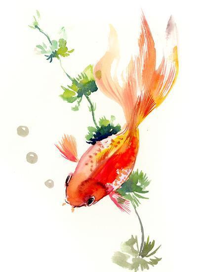 Goldfish 2-Suren Nersisyan-Art Print