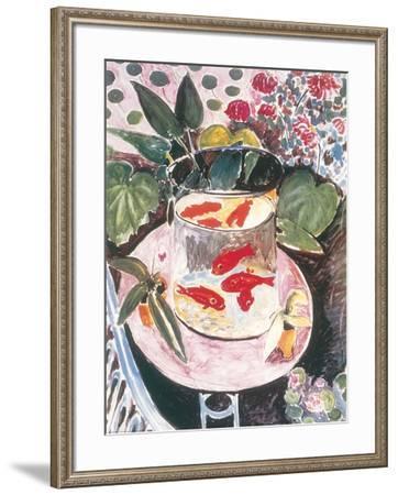 Goldfish-Henri Matisse-Framed Art Print
