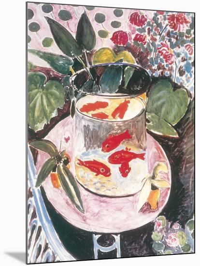 Goldfish-Henri Matisse-Mounted Art Print