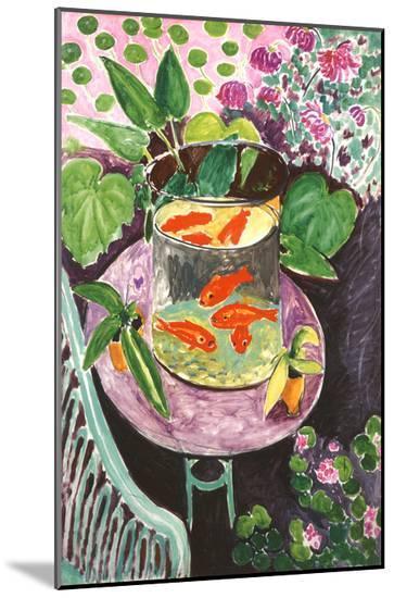 Goldfish-Henri Matisse-Mounted Print