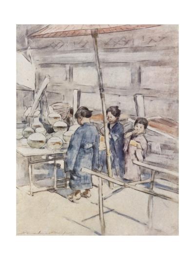 Goldfish-Mortimer Ludington Menpes-Giclee Print