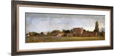 Golding Constable's House-John Constable-Framed Giclee Print