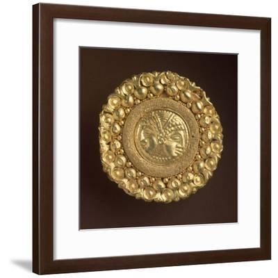 Goldsmithery, Golden Stud, from Spina, Emilia Romagna Region, Italy--Framed Giclee Print