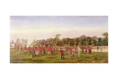 Golf at Blackheath, 1875-Francis, Sir Powell-Giclee Print