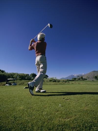Golf Club at Genoa Lakes, Nevada, USA--Photographic Print