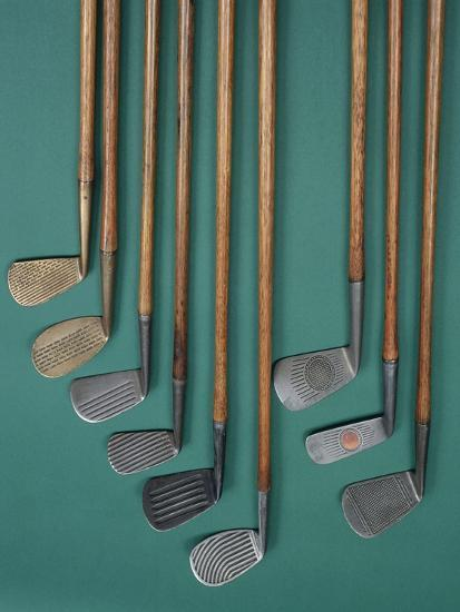 Golf club faces, c1920s-Unknown-Giclee Print