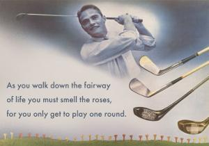 Golf Clubs and Adage