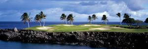 Golf Course at the Seaside, Hawaii, USA