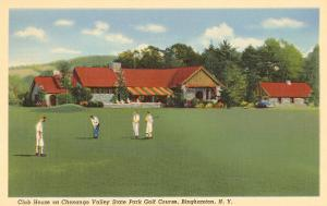 Golf Course, Chenango, Binghamton