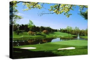 Golf Course, Congressional Country Club, Potomac, Montgomery County, Maryland, USA