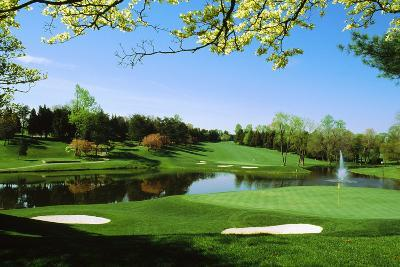 Golf Course, Congressional Country Club, Potomac, Montgomery County, Maryland, USA--Photographic Print