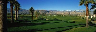 Golf Course, Desert Springs, California, USA--Photographic Print