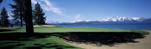 Golf Course, Edgewood Tahoe Golf Course, Stateline, Douglas County, Nevada, USA