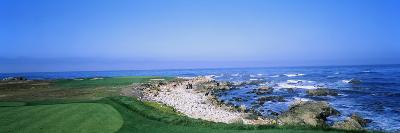 Golf Course on the Coast, Monterey Peninsula, Monterey, California, USA--Photographic Print
