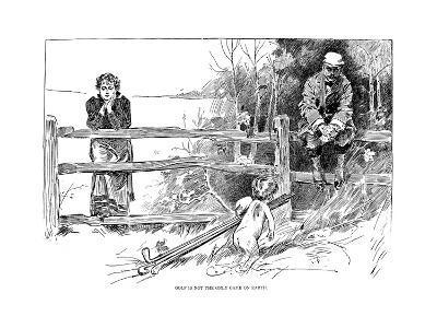 Golf Game, 1895-Charles Dana Gibson-Giclee Print
