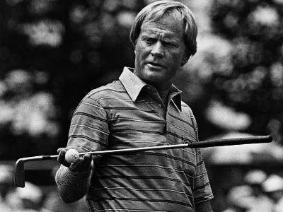Golf Pro Jack Nicklaus, August, 1984--Photo