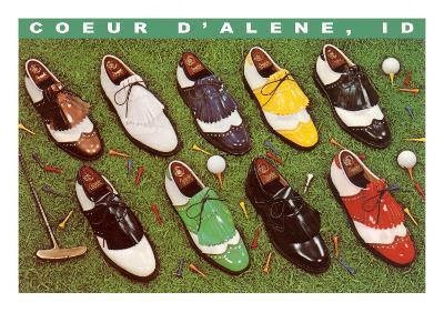 Golf Shoes, Coeur d'Alene, Idaho--Art Print