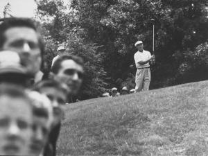 Golfer Ben Hogan During Us Open Tournament