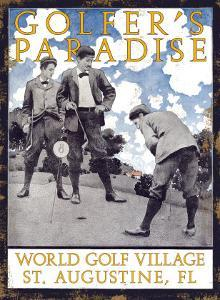 Golfer's Paradise, St. Augustine, Florida