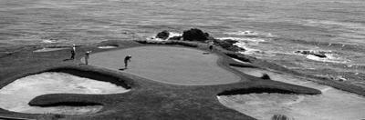 Golfers Pebble Beach, California, USA